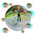 Chasing Bubbles - Red/cyan Filtered 3d Glasses Required by Brian Wallace