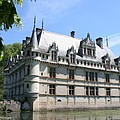 Chateau Azay-le-rideau From The Gardens  by Christiane Schulze Art And Photography