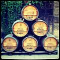 Chateau Barrels by Jean Macaluso
