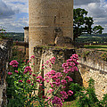 Chateau Chinon In The Loire Valley by Louise Heusinkveld