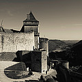 Chateau De Castelnaud With Hot Air by Panoramic Images