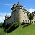 Chateau De Cleron Dans Le Doubs France by Bruce Nutting
