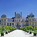 Chateau De Fontainebleau Ile De France by Panoramic Images