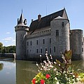 Chateau De Sully-sur-loire And Moat by Christiane Schulze Art And Photography