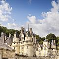 Chateau Usse Loire Valley France by Colin and Linda McKie