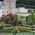 Chateau Villandry And The Cabbage Garden  by Christiane Schulze Art And Photography