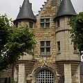 Chatelet - Chateau D'angers  by Christiane Schulze Art And Photography
