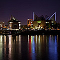 Chattanooga At Night by Melinda Fawver