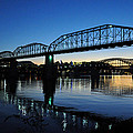 Tennessee River Bridges Chattanooga by Matthew Chapman