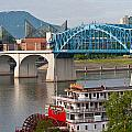 Chattanooga Riverfront by Melinda Fawver