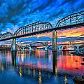 Chattanooga Sunset 3 by Steven Llorca