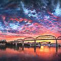 Chattanooga Sunset 4 by Steven Llorca