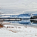 Chatuge Dam Winter Vista by Kenny Francis