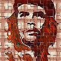 Che Guevara Digital From Watercolor Painting by Georgeta Blanaru