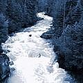 Cheakamus Glacial River - Whistler by Amanda Holmes Tzafrir
