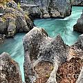 Cheakamus River Channel by Adam Jewell