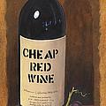 Cheap Red Wine by Terri  Meyer