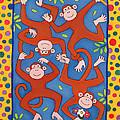 Cheeky Monkeys Wc by Cathy Baxter