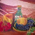 Chees And Bluberries by Sumisha Chandan