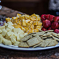 Cheese And Strawberries by Stephen Brown