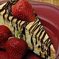 Cheesecake With Strawberries by Amy Cicconi