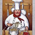 Chef 4 by John Zaccheo