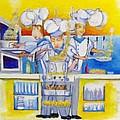 Chef's Kitchen by Kenneth Michur