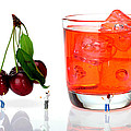 Chefs Making Cherry Juice Little People On Food by Paul Ge