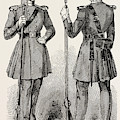 Chelsea Out-pensioners In Their New Uniform by English School
