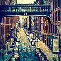 Chelsea Street As Seen From The High Line Park. by Amy Cicconi