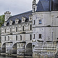 Chenonceau And River Cher by Elvis Vaughn
