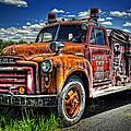Cherokee Fire Truck by Ken Smith