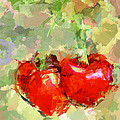 Cherries Abstract by Yury Malkov