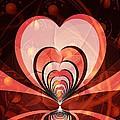 Cherries And Hearts by Anastasiya Malakhova