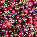 Cherries In Des Moines Washington by Cathy Anderson