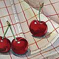 Cherry Talk By Irina Sztukowski by Irina Sztukowski