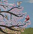 Cherry Blossom by Christine Hamilton