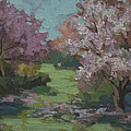 Cherry Blossoms by Diane McClary