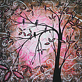 Cherry Blossoms by Megan Duncanson