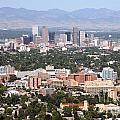 Cherry Creek In Denver by Bill Cobb