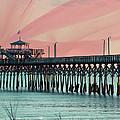 Cherry Grove Fishing Pier by Trish Tritz