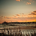 Cherry Grove Pier Myrtle Beach Sc by Trish Tritz