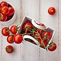 Cherry Tomatoes by Desislava Panteva