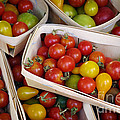 Cherry Tomatos by Carlos Caetano