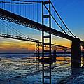 Chesapeake Bay Bridge Reflections by Bill Swartwout Fine Art Photography