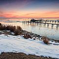 Chesapeake Bay Freeze by Jennifer Casey
