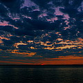 Chesapeake Sunset Clouds by Doug Edmunds