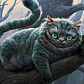 Cheshire Cat by Movie Poster Prints