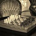 Chess Game by Cynthia Guinn
