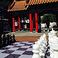 Chess In China Town by LeLa Becker